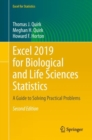 Excel 2019 for Biological and Life Sciences Statistics : A Guide to Solving Practical Problems - Book