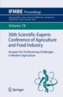30th Scientific-Experts Conference of Agriculture and Food Industry : Answers for Forthcoming Challenges in Modern Agriculture - eBook