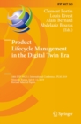 Product Lifecycle Management in the Digital Twin Era : 16th IFIP WG 5.1 International Conference, PLM 2019, Moscow, Russia, July 8-12, 2019, Revised Selected Papers - eBook