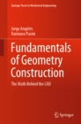 Fundamentals of Geometry Construction : The Math Behind the CAD - eBook