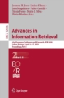 Advances in Information Retrieval : 42nd European Conference on IR Research, ECIR 2020, Lisbon, Portugal, April 14-17, 2020, Proceedings, Part II - eBook