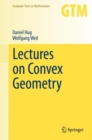 Lectures on Convex Geometry - eBook