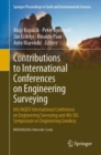 Contributions to International Conferences on Engineering Surveying : 8th INGEO International Conference on Engineering Surveying and 4th SIG Symposium on Engineering Geodesy - eBook