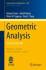 Geometric Analysis : Cetraro, Italy 2018 - eBook