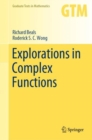 Explorations in Complex Functions - eBook