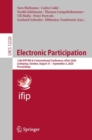 Electronic Participation : 12th IFIP WG 8.5 International Conference, ePart 2020, Linkoping, Sweden, August 31 - September 2, 2020, Proceedings - eBook
