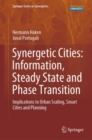Synergetic Cities: Information, Steady State and Phase Transition : Implications to Urban Scaling, Smart Cities and Planning - eBook