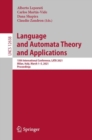 Language and Automata Theory and Applications : 15th International Conference, LATA 2021, Milan, Italy, March 1-5, 2021, Proceedings - eBook