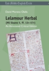 Lelamour Herbal (MS Sloane 5, ff. 13r-57r) : An Annotated Critical Edition - Book