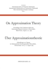 On approximation theory : Proceedings of the Conference held in the Mathematical Research Institute at Oberwolfach, Black Forest, August 4-10, 1963 - eBook