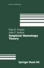 Simplicial Homotopy Theory - eBook