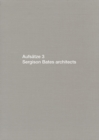 Aufsatze 3: Sergison Bates Architects : Bk.3 - Book