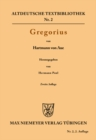 Gregorius - eBook