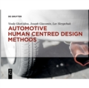 Automotive Human Centred Design Methods - Book