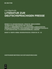136876-149882. Biographische Literatur. Mi - Sc - eBook