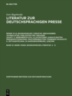 98385-110925. Biographische Literatur. A - E - eBook