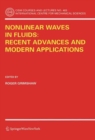 Nonlinear Waves in Fluids: Recent Advances and Modern Applications - eBook