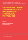 Phenomenological and Mathematical Modelling of Structural Instabilities - eBook
