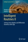 Intelligent Routines II : Solving Linear Algebra and Differential Geometry with Sage - eBook