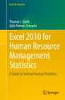 Excel 2010 for Human Resource Management Statistics : A Guide to Solving Practical Problems - eBook