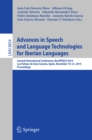 Advances in Speech and Language Technologies for Iberian Languages : IberSPEECH 2014 Conference, Las Palmas de Gran Canaria, Spain, November 19-21, 2014, Proceedings - eBook