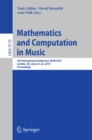 Mathematics and Computation in Music : 5th International Conference, MCM 2015, London, UK, June 22-25, 2015, Proceedings - eBook