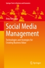 Social Media Management : Technologies and Strategies for Creating Business Value - eBook