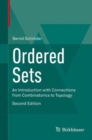 Ordered Sets : An Introduction with Connections from Combinatorics to Topology - Book