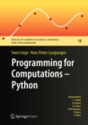 Programming for Computations - Python : A Gentle Introduction to Numerical Simulations with Python - eBook