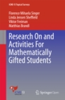 Research On and Activities For Mathematically Gifted Students - eBook
