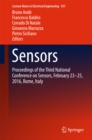 Sensors : Proceedings of the Third National Conference on Sensors, February 23-25, 2016, Rome, Italy - eBook