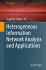 Heterogeneous Information Network Analysis and Applications - eBook
