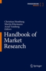 Handbook of Market Research - Book