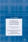 Economics of Offshore Wind Power : Challenges and Policy Considerations - eBook