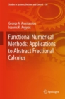 Functional Numerical Methods: Applications to Abstract Fractional Calculus - eBook
