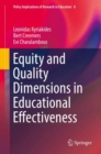 Equity and Quality Dimensions in Educational Effectiveness - eBook