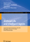 Artificial Life and Intelligent Agents : Second International Symposium, ALIA 2016, Birmingham, UK, June 14-15, 2016, Revised Selected Papers - eBook
