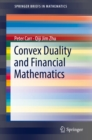 Convex Duality and Financial Mathematics - eBook