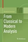 From Classical to Modern Analysis - Book