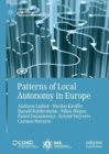 Patterns of Local Autonomy in Europe - eBook