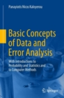 Basic Concepts of Data and Error Analysis : With Introductions to Probability and Statistics and to Computer Methods - Book