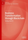 Business Transformation through Blockchain : Volume II - eBook