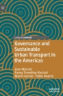 Governance and Sustainable Urban Transport in the Americas - Book