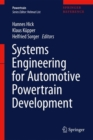 Systems Engineering for Automotive Powertrain Development - Book