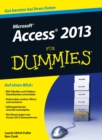 Access 2013 f r Dummies - eBook