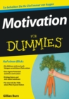 Motivation fur Dummies - Book
