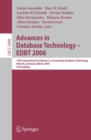 Advances in Database Technology -- EDBT 2006 : 10 International Conference on Extending Database Technology, Munich, Germany, 26-31 March 2006, Proceedings - eBook