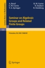 Seminar on Algebraic Groups and Related Finite Groups : Held at the Institute for Advanced Study, Princeton/NJ, 1968/69 - eBook