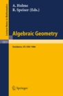 Algebraic Geometry. Sundance 1986 : Proceedings of a Conference held at Sundance, Utah, August 12-19, 1986 - eBook