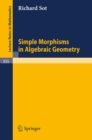Simple Morphisms in Algebraic Geometry - eBook